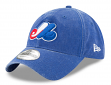 "Montreal Expos New Era MLB 9Twenty Cooperstown ""Rugged Wash"" Adjustable Hat"