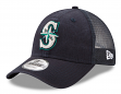 "Seattle Mariners New Era 9Forty MLB ""Trucker Washed"" Adjustable Hat"