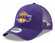 "Los Angeles Lakers New Era 9Forty NBA ""Trucker Washed"" Adjustable Hat"