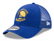 """Golden State Warriors New Era 9Forty NBA """"Trucker Washed"""" Adjustable Hat"""