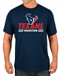 "Houston Texans Majestic NFL ""Come Out Fighting"" Men's Short Sleeve T-Shirt"