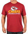 """Kansas City Chiefs Majestic NFL """"Come Out Fighting"""" Men's Short Sleeve T-Shirt"""