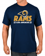 """Los Angeles Rams Majestic NFL """"Come Out Fighting"""" Men's Short Sleeve T-Shirt"""