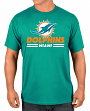 """Miami Dolphins Majestic NFL """"Come Out Fighting"""" Men's Short Sleeve T-Shirt"""