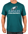 "Philadelphia Eagles Majestic NFL ""Come Out Fighting"" Men's Short Sleeve T-Shirt"