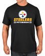 "Pittsburgh Steelers Majestic NFL ""Come Out Fighting"" Men's Short Sleeve T-Shirt"