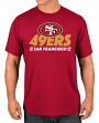"San Francisco 49ers Majestic NFL ""Come Out Fighting"" Men's Short Sleeve T-Shirt"