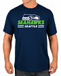 """Seattle Seahawks Majestic NFL """"Come Out Fighting"""" Men's Short Sleeve T-Shirt"""