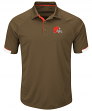 "Cleveland Browns Majestic NFL ""Last Minute Win"" Men's Short Sleeve Polo"