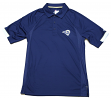"Los Angeles Rams Majestic NFL ""Last Minute Win"" Men's Short Sleeve Polo"
