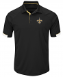 "New Orleans Saints Majestic NFL ""Last Minute Win"" Men's Short Sleeve Polo"