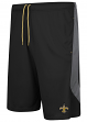 """New Orleans Saints Majestic NFL """"Last Rally"""" Men's Synthetic Shorts"""
