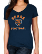 "Chicago Bears Women's Majestic NFL ""Uncontainable"" Short Sleeve T-shirt"