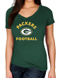 "Green Bay Packers Women's Majestic NFL ""Uncontainable"" Short Sleeve T-shirt"