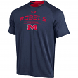 """Mississippi Ole Miss Rebels Under Armour NCAA """"Charged Up"""" Tri-Blend S/S Shirt"""
