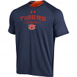 """Auburn Tigers Under Armour NCAA """"Charged Up"""" Men's Tri-Blend S/S Shirt"""