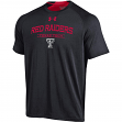 """Texas Tech Red Raiders Under Armour NCAA """"Charged Up"""" Men's Tri-Blend S/S Shirt"""