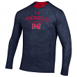 "Mississippi Ole Miss Rebels Under Armour NCAA ""Charge On"" Tri-Blend L/S Shirt"