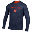 "Auburn Tigers Under Armour NCAA ""Charge On"" Men's Tri-Blend L/S Shirt"