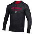"Texas Tech Red Raiders Under Armour NCAA ""Charge On"" Men's Tri-Blend L/S Shirt"