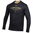"Vanderbilt Commodores Under Armour NCAA ""Charge On"" Men's Tri-Blend L/S Shirt"