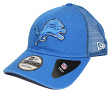 "Detroit Lions New Era 9Forty NFL ""Trucker Washed"" Adjustable Hat"