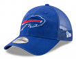 "Buffalo Bills New Era 9Forty NFL ""Trucker Washed"" Adjustable Hat"