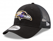 "Baltimore Ravens New Era 9Forty NFL ""Trucker Washed"" Adjustable Hat"
