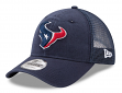 "Houston Texans New Era 9Forty NFL ""Trucker Washed"" Adjustable Hat"