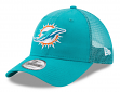 """Miami Dolphins New Era 9Forty NFL """"Trucker Washed"""" Adjustable Hat"""