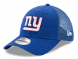 "New York Giants New Era 9Forty NFL ""Trucker Washed"" Adjustable Hat"