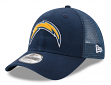 "San Diego Chargers New Era 9Forty NFL ""Trucker Washed"" Adjustable Hat"