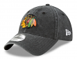 "Chicago Blackhawks New Era NHL 9Twenty ""Rugged Wash"" Adjustable Hat"