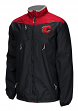 Calgary Flames Reebok NHL 2016 Center Ice Kinetic Rink Full Zip Jacket