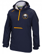 "Buffalo Sabres Reebok NHL 2016 Center Ice ""Anorak"" Kinetic 1/4 Zip Jacket"