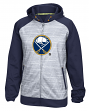 Buffalo Sabres Reebok NHL 2016 Center Ice Speedwick Full Zip Sweatshirt