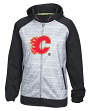 Calgary Flames Reebok NHL 2016 Center Ice Speedwick Full Zip Sweatshirt