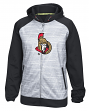 Ottawa Senators Reebok NHL 2016 Center Ice Speedwick Full Zip Sweatshirt