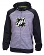 NHL Logo Reebok 2016 Center Ice Speedwick Full Zip Sweatshirt