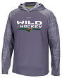 "Minnesota Wild Reebok NHL 2016 Center Ice ""Training"" Lightweight Sweatshirt"