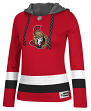 "Ottawa Senators Women's NHL Reebok ""Crewdie"" Pullover Hooded Sweatshirt"
