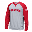 "Detroit Red Wings Reebok NHL ""Offsides"" Long Sleeve Raglan Crew Shirt"