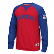 "New York Rangers Reebok NHL ""Offsides"" Long Sleeve Raglan Crew Shirt"