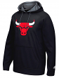 "Chicago Bulls Adidas 2016 NBA ""Playbook"" Men's Hooded Sweatshirt - Black"