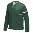 Milwaukee Bucks Adidas 2016 NBA Men's On-Court Warm-Up Full Zip Jacket