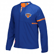 New York Knicks Adidas 2016 NBA Men's On-Court Warm-Up Full Zip Jacket