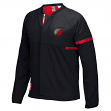 Portland Trail Blazers Adidas 2016 NBA Men's On-Court Warm-Up Full Zip Jacket