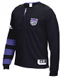 Sacramento Kings Adidas 2016 NBA Men's On-Court Authentic L/S Shooting Shirt