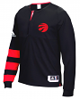 Toronto Raptors Adidas 2016 NBA Men's On-Court Authentic L/S Shooting Shirt