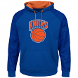 "New York Knicks Majestic NBA ""Armor 2"" Men's Pullover Hooded Sweatshirt - Blue"